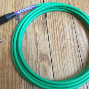 Doc's Basement Studio Instrument Cable Green