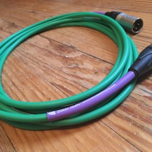 Doc's Basement Studio XLR Cable Green