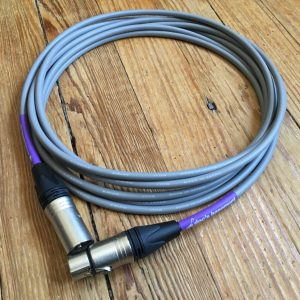 Doc's Basement Studio XLR Cable Gray