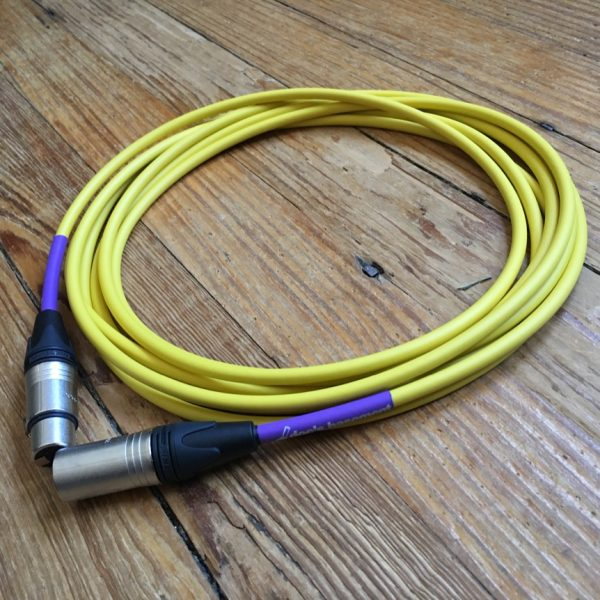 Doc's Basement Studio XLR Cable Yellow