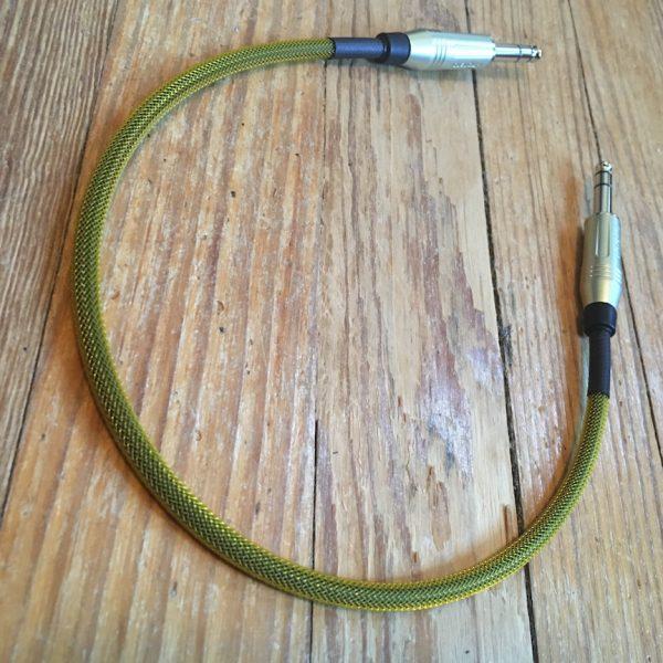 """Doc's Basement 18"""" Studio TRS Patch Cable"""