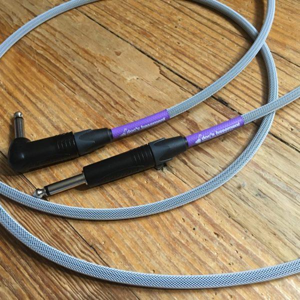 Doc's Basement MoFlex Instrument Cable White