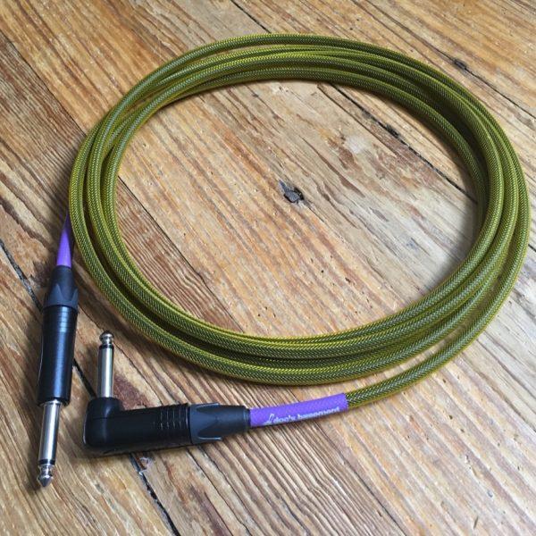 Doc's Basement MoFlex Instrument Cable Yellow