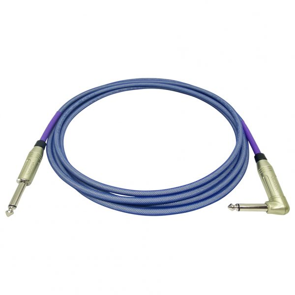 Doc's Basement GhostFlex Instrument Cable Blue