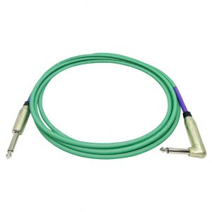 Doc's Basement GhostFlex Instrument Cable Green