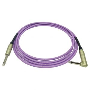 Doc's Basement GhostFlex Instrument Cable Purple