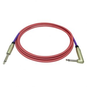 Doc's Basement GhostFlex Instrument Cable Red
