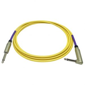 Doc's Basement GhostFlex Instrument Cable Yellow